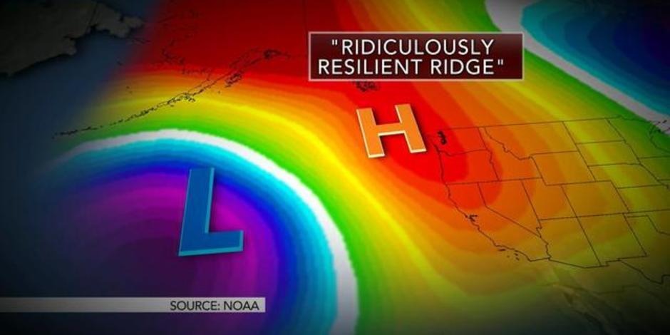 Ridge California Drought For California Drought