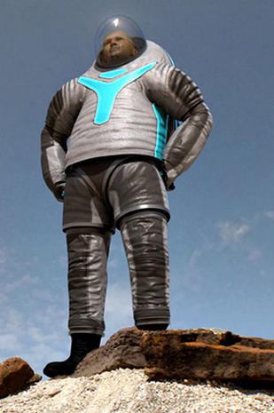 space suit rear - photo #24