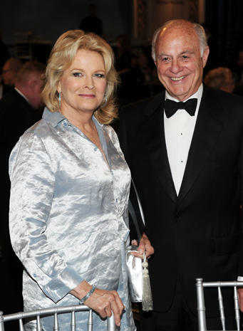 Candice Bergen and husband