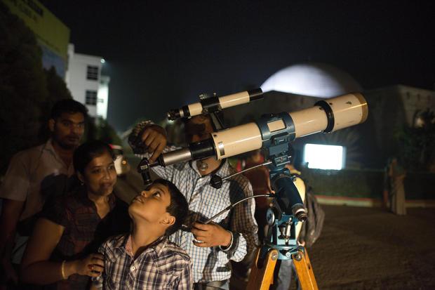 Cosmic gazing: Eclipses in 2015