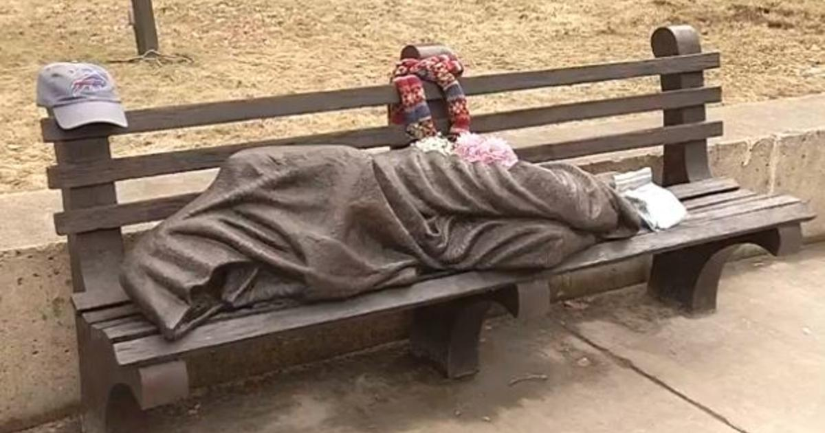 Quot Homeless Jesus Quot Statue In Buffalo Gets Unusual Response