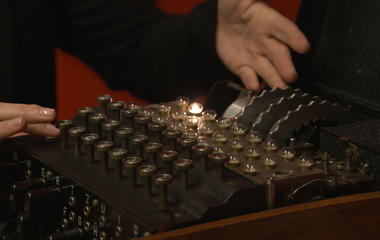 Alan Turing wartime manuscript, Enigma machine up for auction