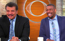 "Neil deGrasse Tyson and comedian Chuck Nice on their podcast and ""StarTalk"""