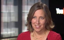 Susan Wojcicki on competing with sister