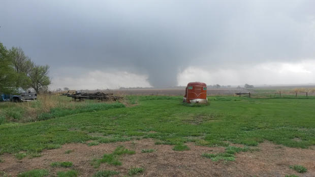 Tornadoes in the heartland