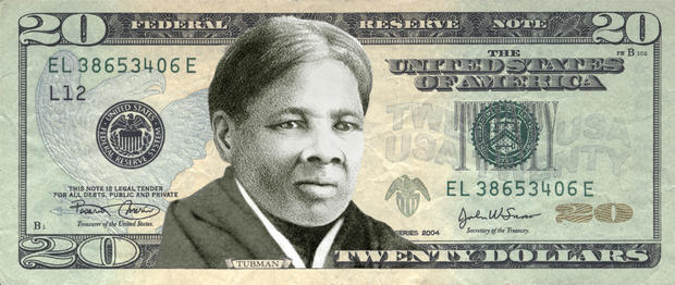 ... the paper ceiling: Harriet Tubman on the $20 - Pictures - CBS News