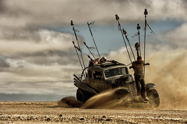 the nux car the cars of mad max fury road pictures cbs news. Black Bedroom Furniture Sets. Home Design Ideas