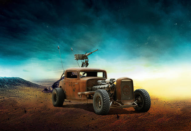 Dodge Cars Mad Max Fury Road Cbs News