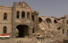 Rare view of destruction inside Yemen's civil war