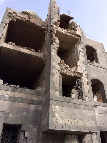 Inside Yemen's war-torn capital