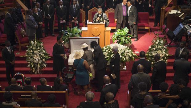 Funeral For Ethel Lance Charleston Shooting Victim Draws