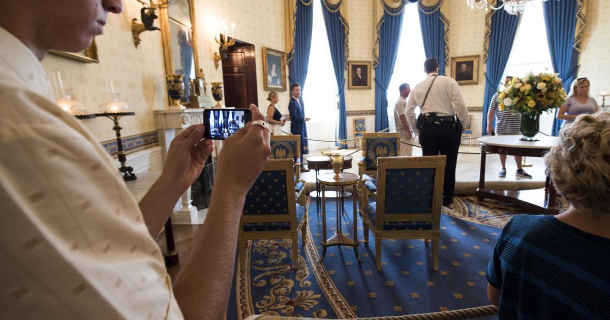 White House Tours For Tourists