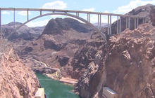 Drought conditions bring Lake Mead to record lows