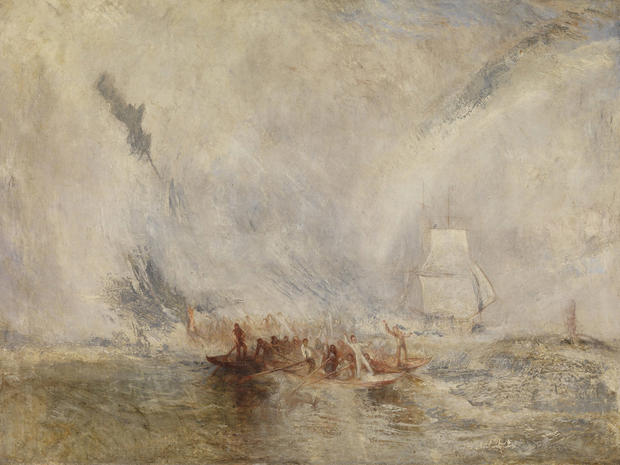 Fire, sea, storms: The art of J.M.W. Turner
