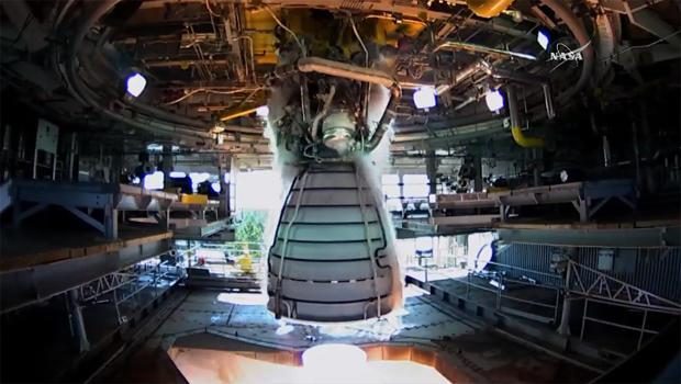 NASA tests shuttle-era engine for new rocket - CBS News