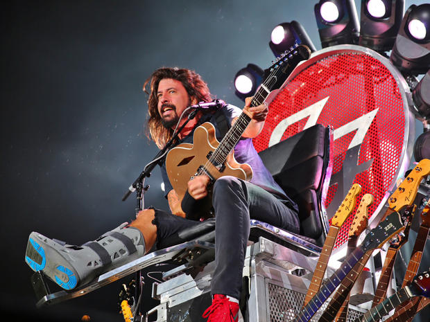 Foo Fighters at Wrigley Field