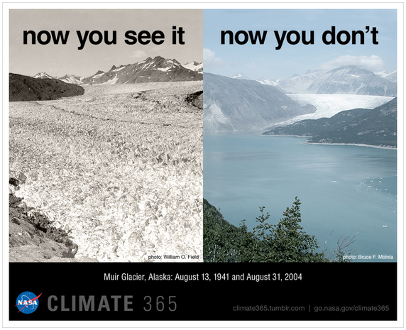 Stunning photos of climate change