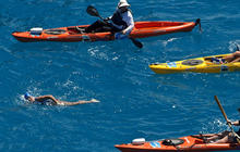 What made Diana Nyad's 5th 110-mile swim attempt a success?