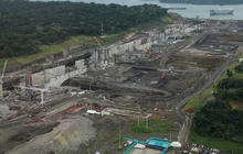 Watch: Panama Canal expansion project aerials