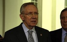 "Reid: Senate will ""look at"" short-term debt limit hike"