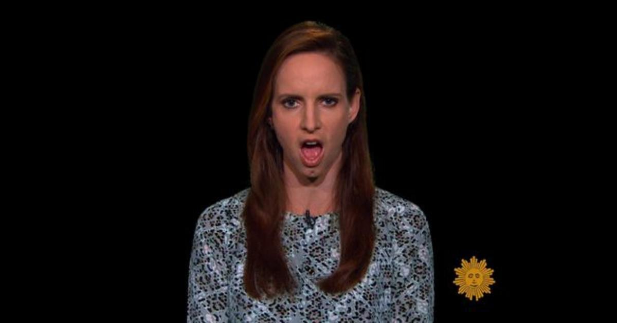 Faith Salie on speaking with vocal fry - Videos - CBS News