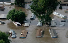Colorado floods continue to strand entire towns