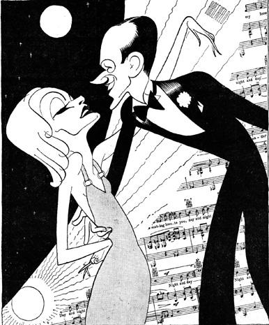 The caricatures of Al Hirschfeld