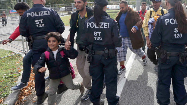 migrants europe austria slovenia