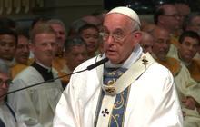 Pope Francis celebrates Mass in Philadelphia