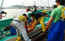 Radioactive leak impedes Japanese fishing, again