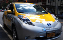 New York City's greenest taxi