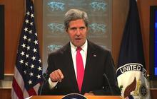 Kerry: U.N. report confirms Assad responsible for chemical attack