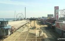 Time Lapse: Seaside Heights boardwalk rebuilding