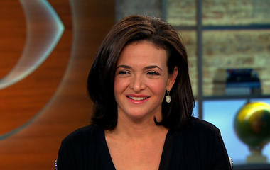 Facebook's Sheryl Sandberg pushes for more women in tech