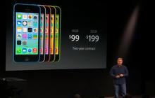 Apple announces $99 iPhone 5C