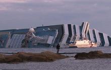 Costa Concorida cruise ship salvage effort begins