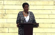 """Myrlie Evers-Williams decries """"retrenchment"""" of civil rights"""