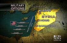 Military strike options against Syria