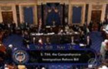 Senate passes immigration overhaul with bipartisan support