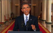"On Syria, Obama pleads with ""friends"" on left, right"