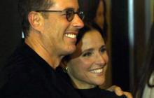 """Julia Louis-Dreyfus, Jerry Seinfeld reunite at """"Enough Said"""" screening"""
