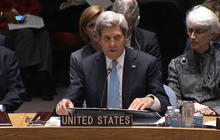 "Kerry: ""Should the regime fail to act, there will be consequences"""