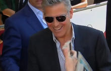 """George Clooney, Sandra Bullock step out for """"Gravity"""" premiere"""