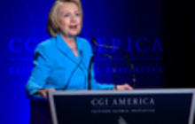 Hillary Clinton lauds expanding role of women