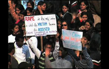 Men in India sentenced to death for raping and murdering woman