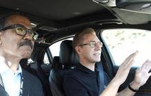 """60 Minutes"" test-rides Mercedes-Benz self-driving car"