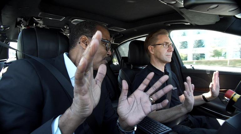 Self Driving Cars Google Mercedes Benz  Minutes