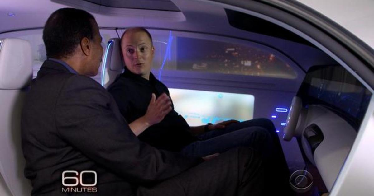 inside the self driving car of the future videos cbs news. Black Bedroom Furniture Sets. Home Design Ideas