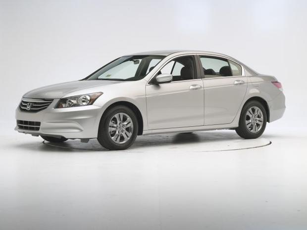 midsize car 2012 honda accord 10 900 7 of the safest used cars for teen drivers cbs news. Black Bedroom Furniture Sets. Home Design Ideas