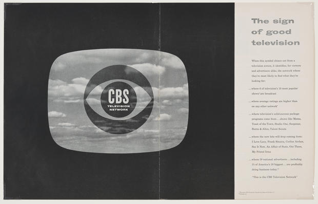 A look back at the CBS Eye and its influences
